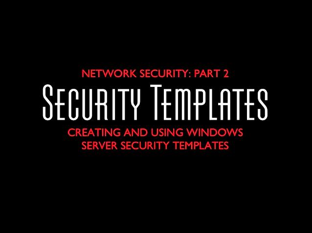Server Security, Part 2 Title Slide